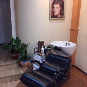 Зона мытья волос