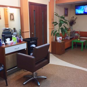 Место парикмахера
