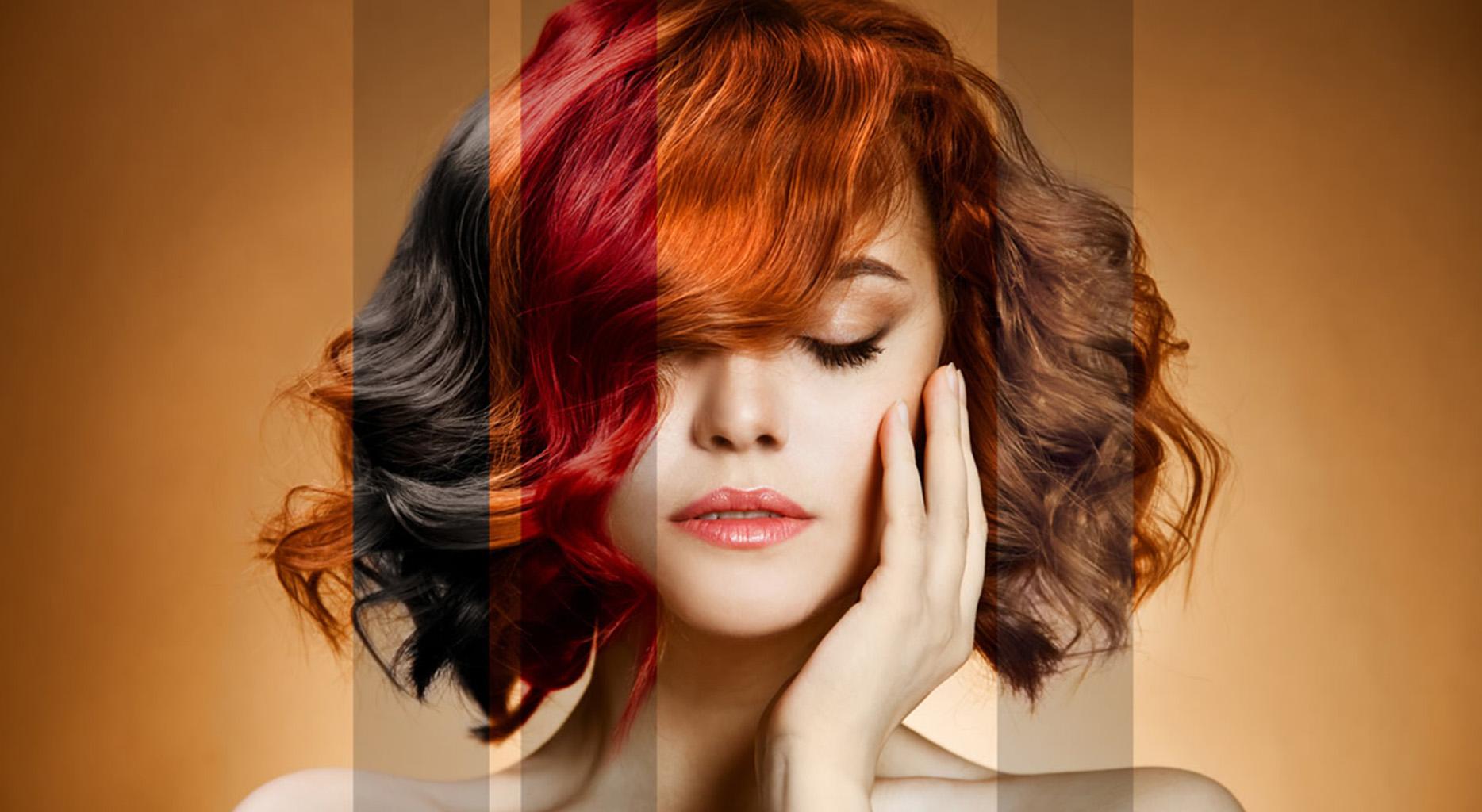 цветное мелирование волос в киеве на златоустовской
